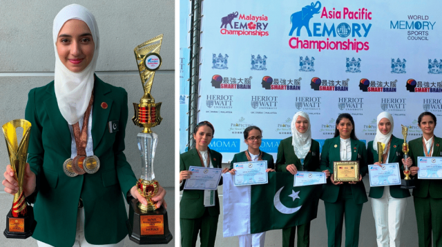 Pakistani Girl Wins World Memory Championship While Breaking Multiple Records