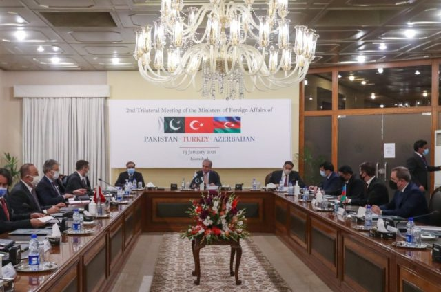Turkey, Azerbaijan, Pakistan agree to boost cooperation