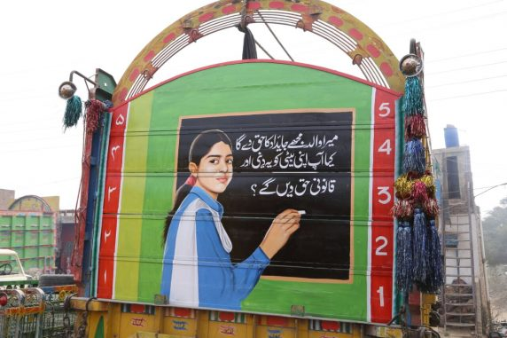 Truck Art Continues to be Pakistan's Best Cultural Export