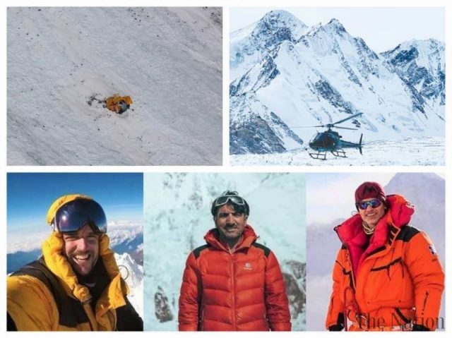Efforts still ongoing to find Ali Sadpara, other missing climbers