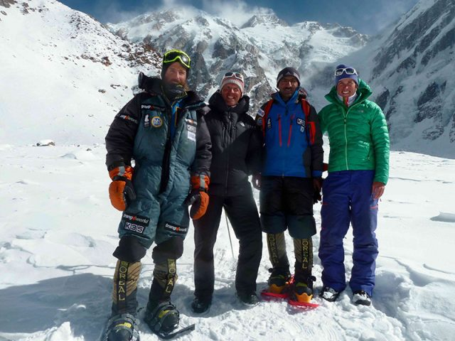Nanga Parbat in winter, Simone Moro, Alex Txikon, Ali Sadpara