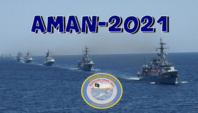 Over 40 international navies coming to Pakistan for Aman 2021