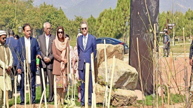 Australian Govt Gifts Miyawaki Forest to Pakistan