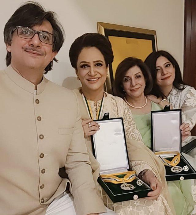 Bushra Ansari and Sultana Siddiqui