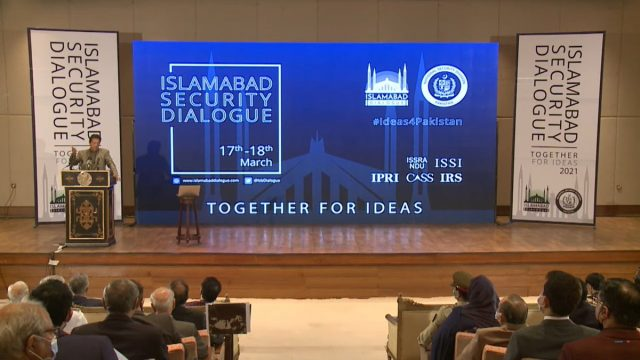 PM Imran Khan to launch first Islamabad Security Dialogue