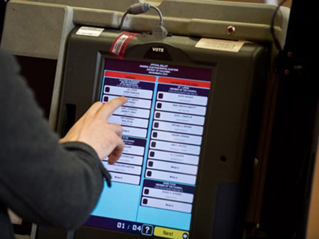 دستگاه رای گیری الکترونیکی