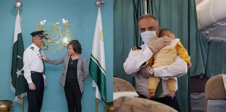 UN Honors PIA Steward After Video Of Him Soothing A Crying Baby