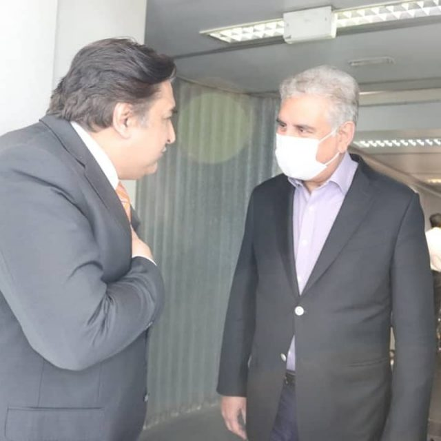 Pakistan's foreign minister in Tehran on 3-day visit