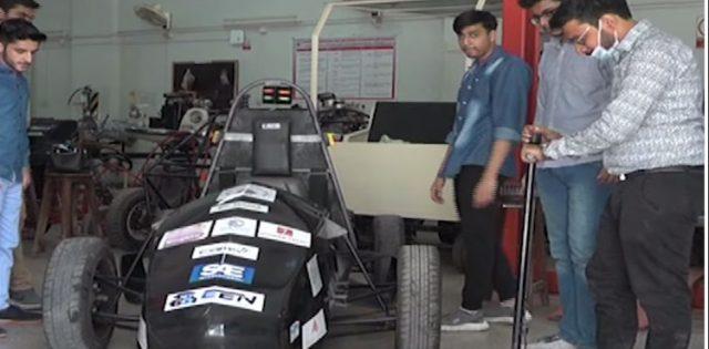 NED University students develop Pakistan's second Formula Electric Sports car