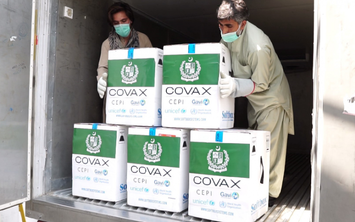 Pakistan receives first batch of Pfizer vaccine under COVAX