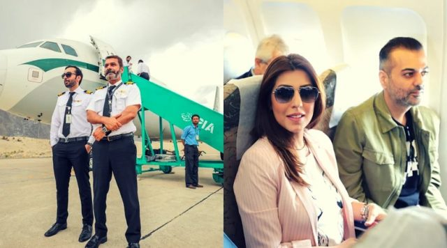 PIA flew its first Air Safari flight with a bunch of Pakistani celebrities