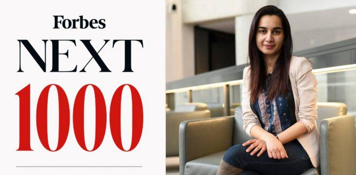 Pakistan's Mariam Nusrat makes it to Forbes 'Next 1000 List'