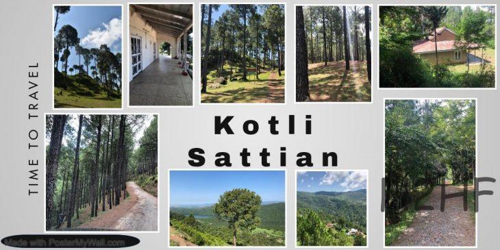 Road Travel to Kotli Sattian Pakistan, near Murree