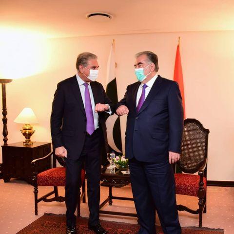smqureshi welcome President of Tajikistan