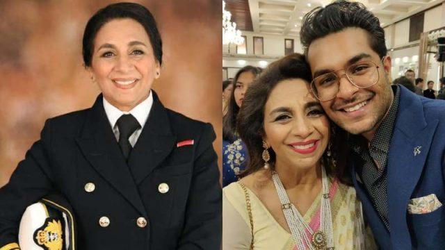 Asim Azhar praises aunt Durdana Ansari for becoming the first Muslim woman captain in the British navy