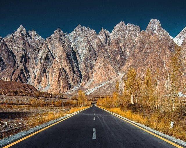 The beauty of Karakoram Highway.