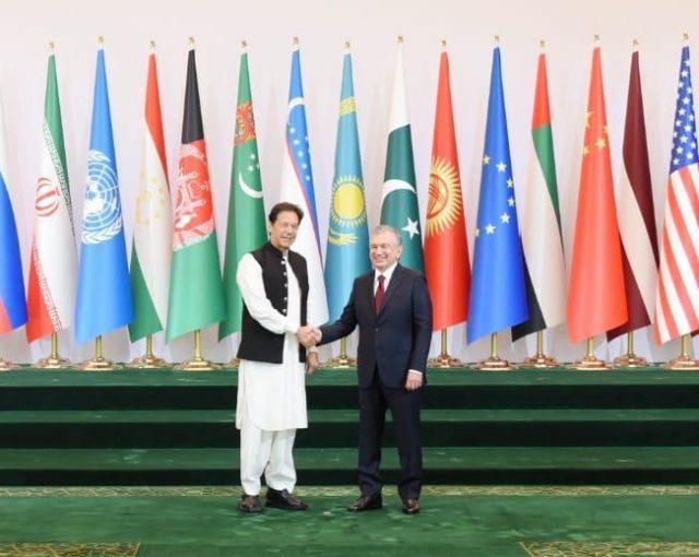 Shavkat Mirziyoyev received PM IMARAN KHAN