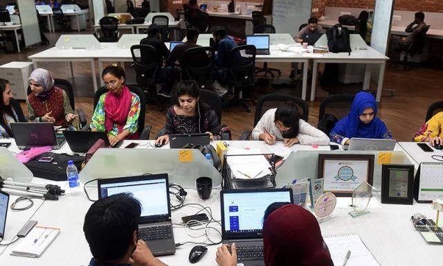 PAKISTAN-TECHNOLOGY-ECONOMY