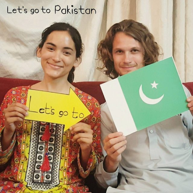 Foreign tourist in pakistan