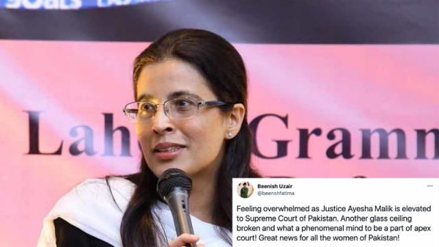 Justice Ayesha Malik Becomes Pakistan's First Woman Judge Nominated For Supreme Court