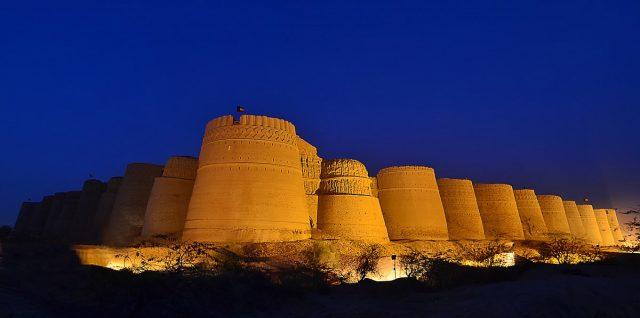 Derawar Fort at Blue Hour by M Ali Mir