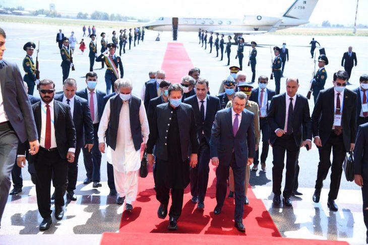 10 red carpet welcome at Dushanbe International Airport, Tajikistan.
