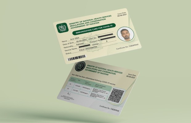 UK to accept NADRA-issued COVID-19 vaccine certificate
